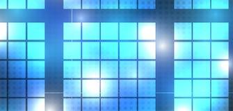 Cubo della rete di tecnologia emergente Fotografie Stock