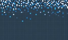 Cubo della rete di tecnologia emergente Fotografia Stock
