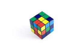 Cubo di colore di Rubik Fotografia Stock Libera da Diritti