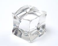 Cubo di ghiaccio Immagini Stock