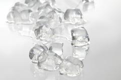 Cubo di ghiaccio immagine stock