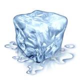 Cubo di ghiaccio illustrazione di stock