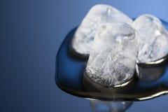 Cubo di ghiaccio Immagini Stock Libere da Diritti