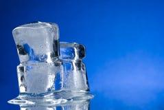 Cubo di ghiaccio Fotografia Stock