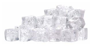 Cubo di ghiaccio. Isolato Fotografia Stock Libera da Diritti