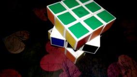 Cubo di Rubic fotografie stock libere da diritti