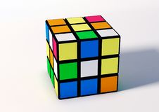 Cubo di Rubik Fotografia Stock