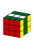 Cubo di Rubiks Immagine Stock