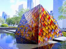 Cubo di Rubix Fotografie Stock Libere da Diritti