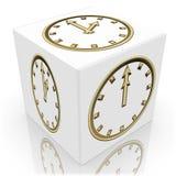 Cubo di tempo Immagine Stock