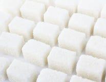Cubo do açúcar Foto de Stock