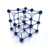 Cubo do quadro Imagens de Stock
