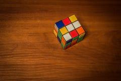Cubo do ` s de Rubik Fotografia de Stock Royalty Free