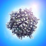 Cubo do transporte Imagens de Stock