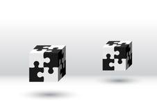 Cubo dois Imagens de Stock Royalty Free
