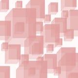 Cubo en líneas Fotografía de archivo libre de regalías