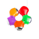 cubo Flor-dado forma de USB Imagens de Stock Royalty Free