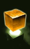 Cubo futurista da água ilustração do vetor