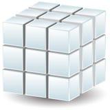Cubo geométrico Fotos de Stock
