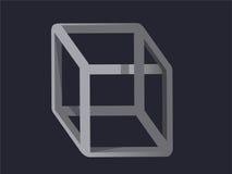 Cubo illogico Immagini Stock