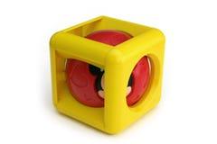 Cubo musicale infantile Fotografie Stock