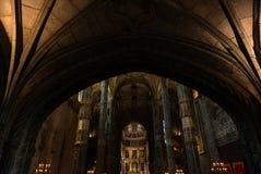 Cubo principal de la iglesia del monasterio de Jeronimos Foto de archivo