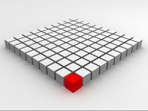 Cubo rojo libre illustration