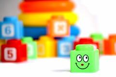 Cubo sorridente Fotografia Stock