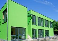 Cubo verde de Colonia Foto de archivo