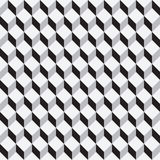Cuboid pattern Stock Images