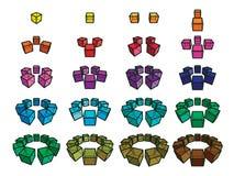 Cubos Imagens de Stock