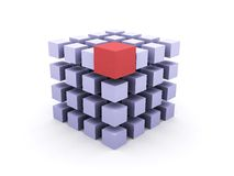 Cubos Fotografia de Stock Royalty Free