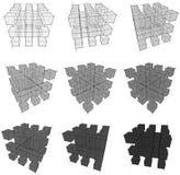 Cubos Imagenes de archivo