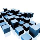 Cubos ilustração do vetor
