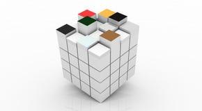 Cubos Fotografía de archivo