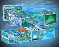 cubos Imagen de archivo libre de regalías