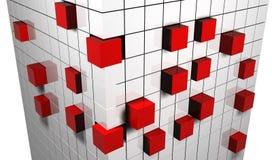 Cubos abstractos Fotografía de archivo libre de regalías