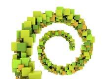 Cubos abstractos stock de ilustración
