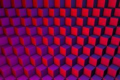 Cubos abstractos Imagen de archivo