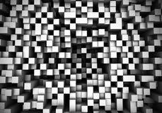 Cubos abstractos 2 de la perspectiva Imagenes de archivo