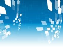 Cubos abstratos Ilustração Stock