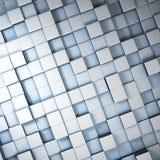 Cubos abstratos Foto de Stock Royalty Free