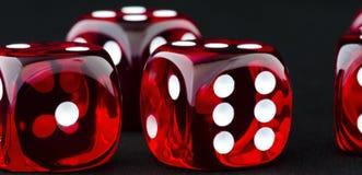 Cubos afortunados Fotografia de Stock