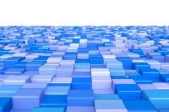 Cubos azules Foto de archivo