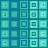Cubos azules abstractos Foto de archivo libre de regalías