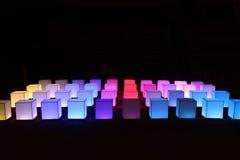 Cubos coloreados Imagen de archivo