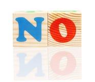 Cubos com letras Imagem de Stock Royalty Free