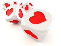 Cubos con el corazón libre illustration