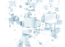 cubos 3D Fotos de archivo libres de regalías