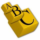 cubos 3D Imagens de Stock Royalty Free